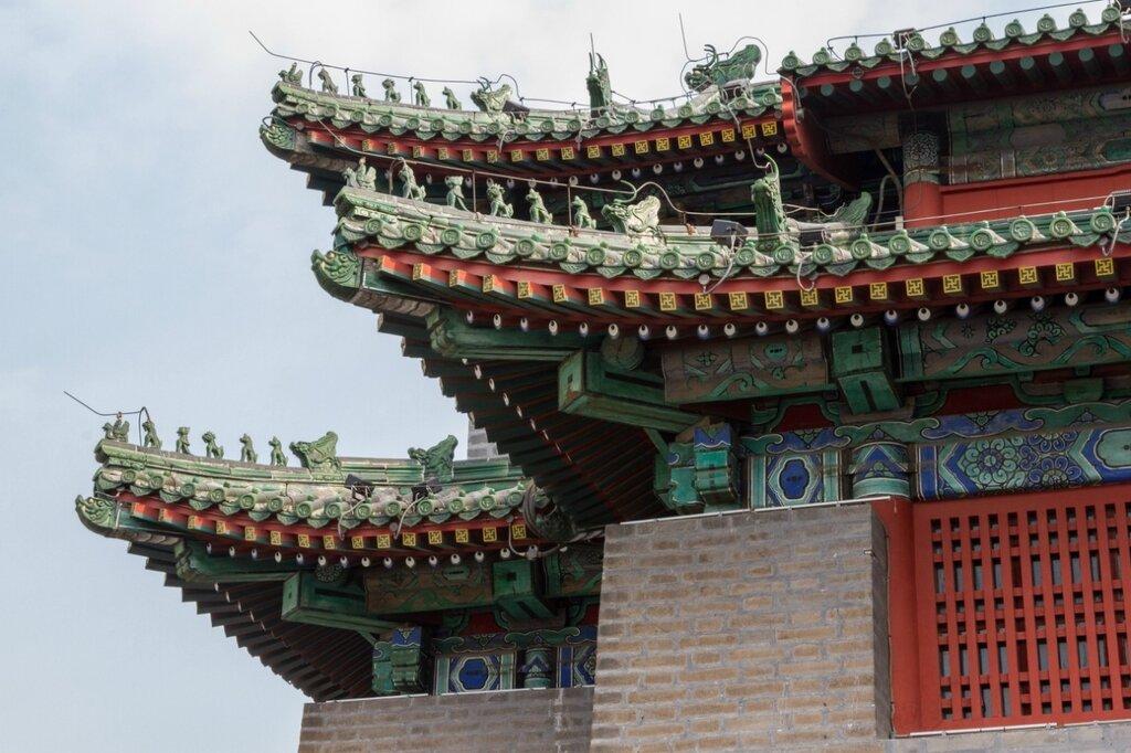 Крыша сторожевой башни, стена эпохи Мин, Пекин