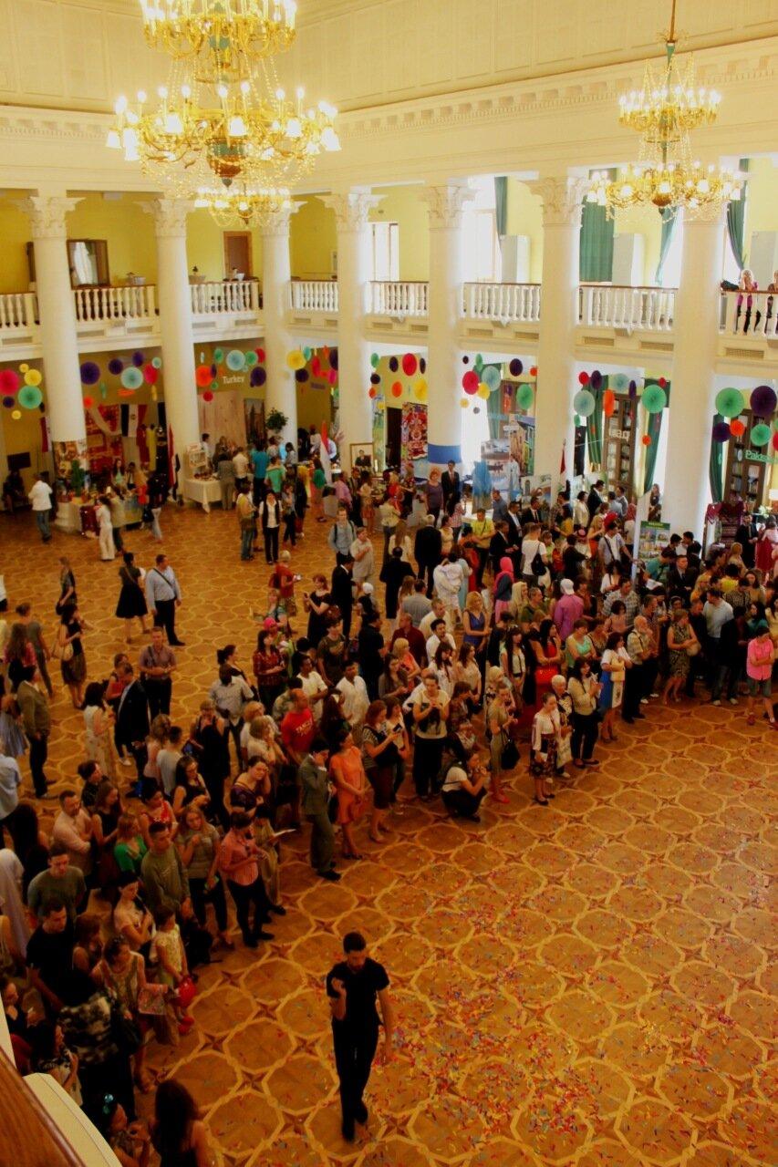 Зрители концерта Outlook Fest