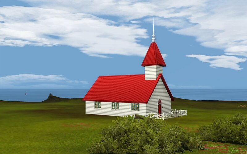 Simple Church by ihelen