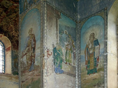 Фрески храма в с. Тугустемир