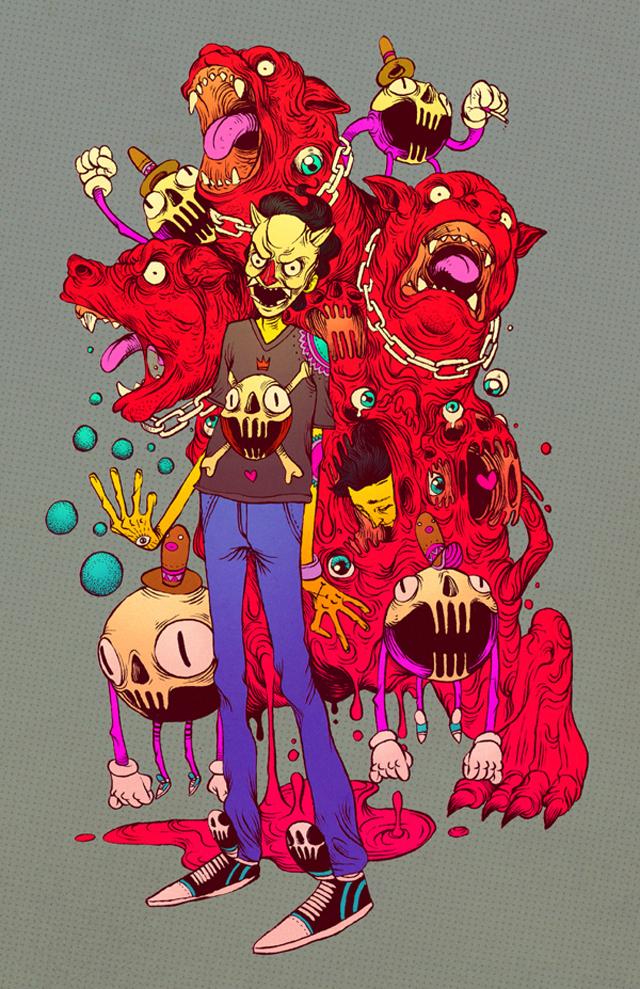Giganting Melting by Raul Urias
