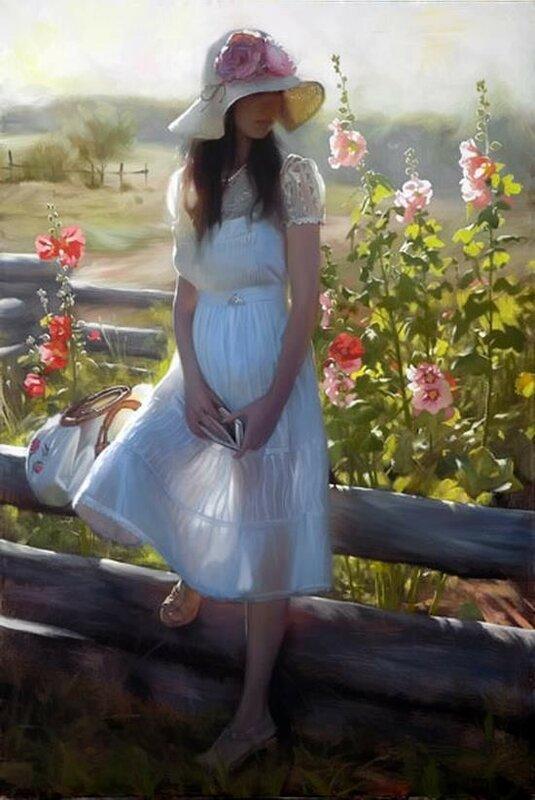 Как много девичьих портретов, где черты изящны и чисты... Andrei Belichenko and Maria Boohtiyarova