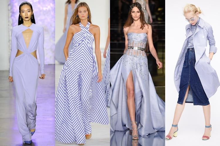 модные цвета весна лето 2016 - лиловый