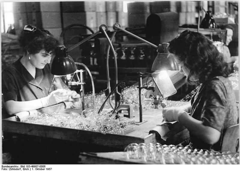 Berliner Glьhlampenwerk, Abteilung Allgebrauchslampen