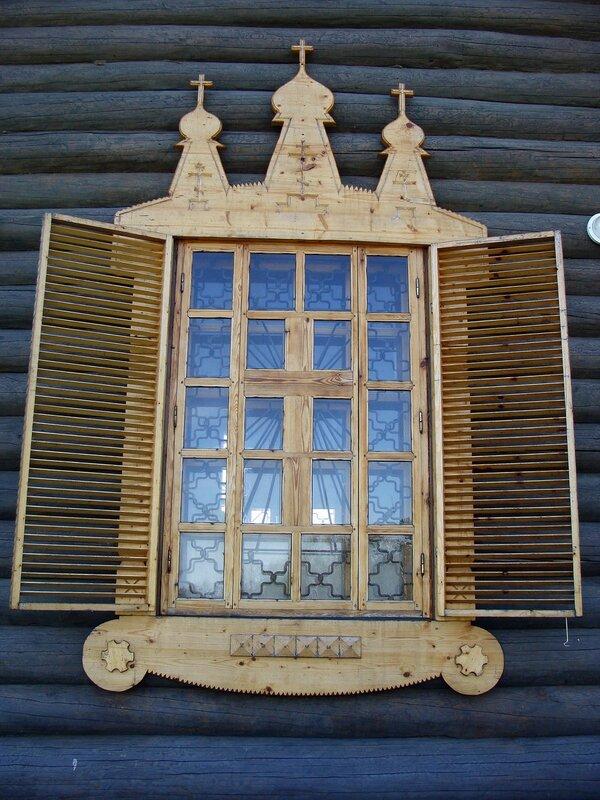 Окно храма