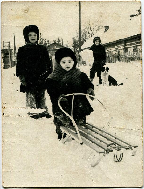 445622 ул. Софьина Гора зимой Кустиков Геннадий Васильевич 1956.jpg