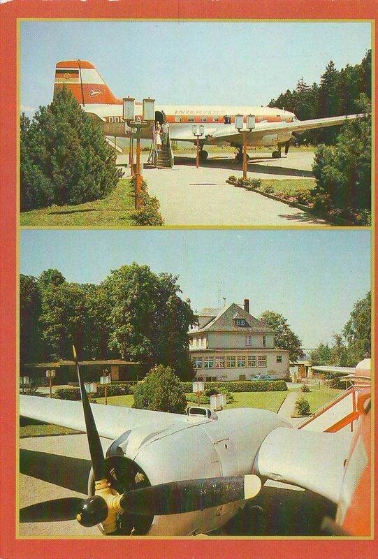 Ил-14 в ГДР.