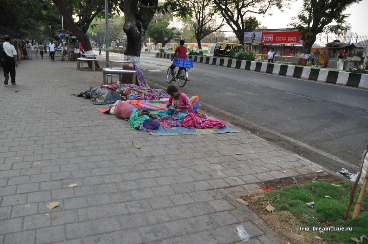 Рано утром в Мумбаи