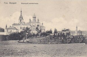 Окрестности Валдая. Короцкий женский монастырь св. Тихона