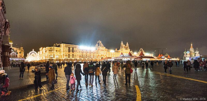 Предновогодняя Москва - 2017
