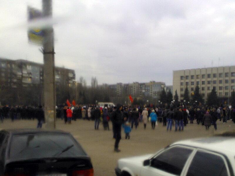 Алчевск 05.03.2014 года