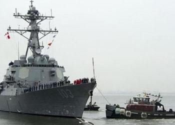 Американский ракетный эсминец «Тракстон» прибыл в Констанцу