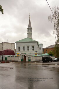 Мечеть Зангар (Голубая мечеть, Четвертая соборная), 1819-1907 гг., Казань