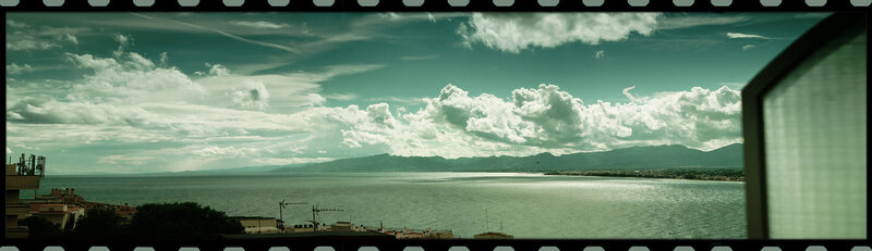 пейзаж. Испания. Вид из окна. Playa oro Park