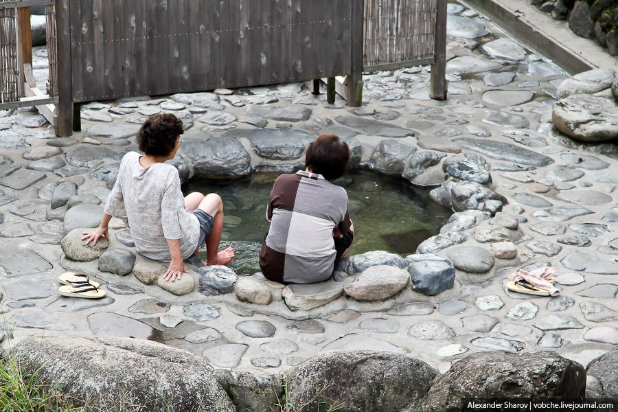 Онсэн. Горячие источники. Япония