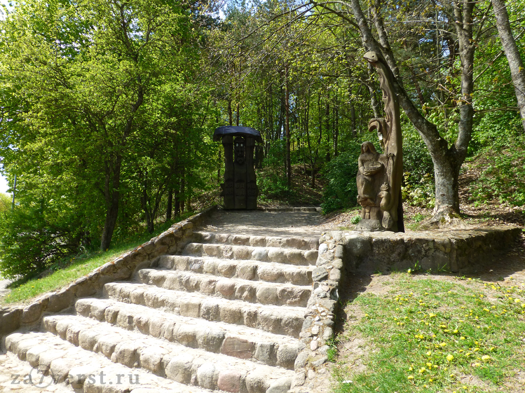 Куршская коса, Гора ведьм, Литва