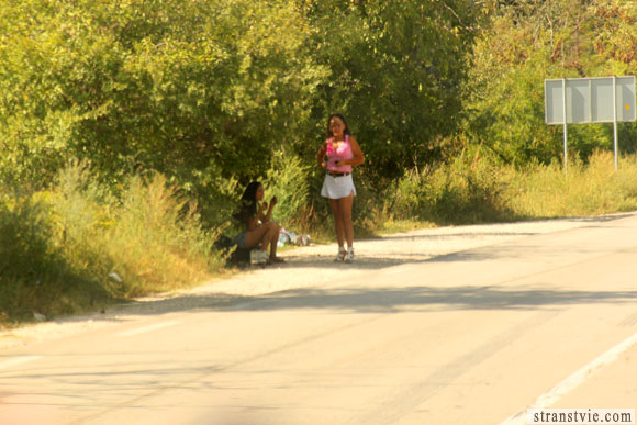 проститутки на дороге в Болгарии