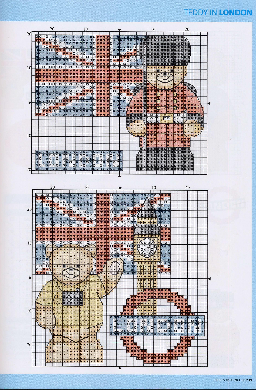 Лондон схема для вышивки 58