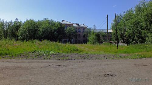 Фотография Инты №5208  Восточная сторона Коммунистической 22 (школа №3) 16.07.2013_12:49
