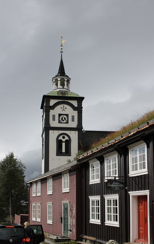 Рёрус, Горный собор (Røros Kirke, Bergstadens Ziir)