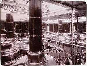 Вид части машинного отделение яхты Штандарт.