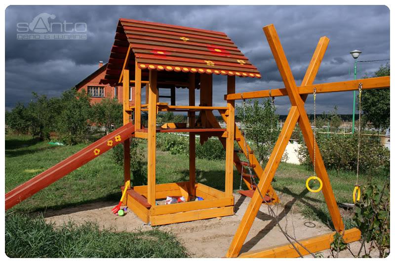 Детский домик купить с доставкой по Москве