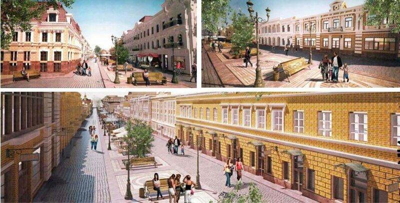 Улица Сагайдачного в перспективе (концепция)