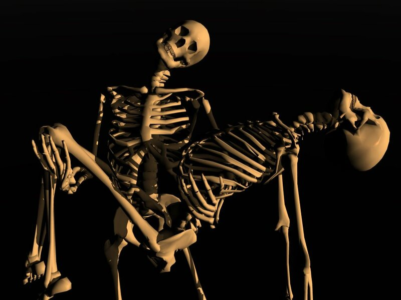 Картинки апрелем, скелет в картинках