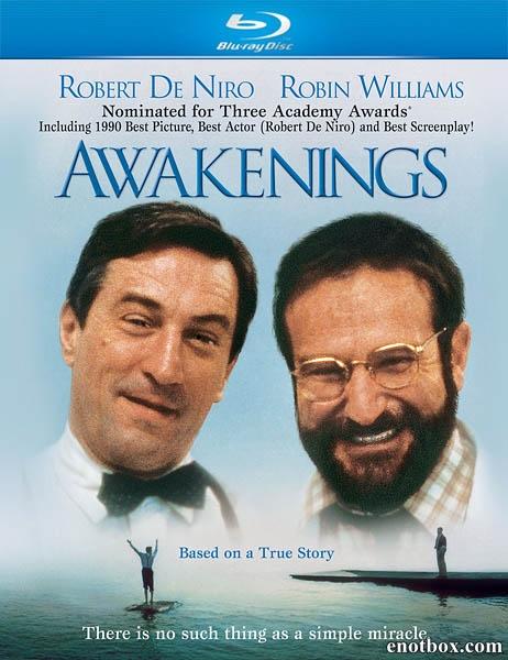 Пробуждение / Awakenings (1990/BDRip/HDRip)