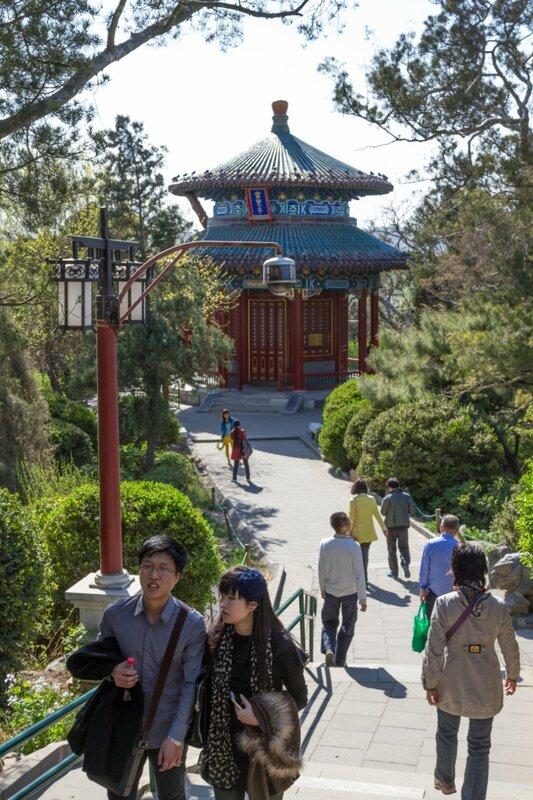 Беседка Фуланьтин, Парк Цзиншань, Пекин