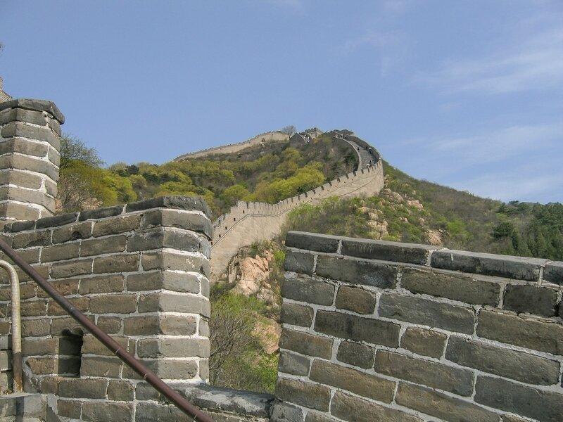 Бойницы, Великая китайская стена, Бадалин