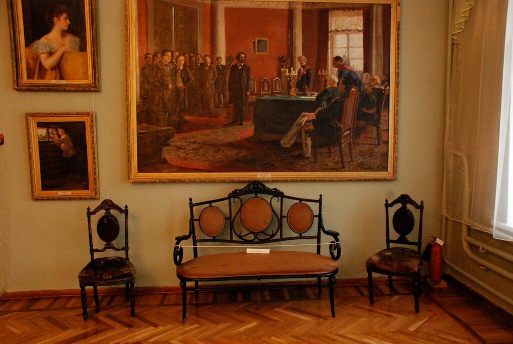 Фрагмент экспозиции Острогожского музея имени Крамского