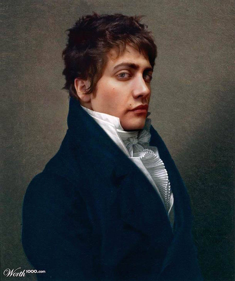 When Classical Paintings Meet Celebrities