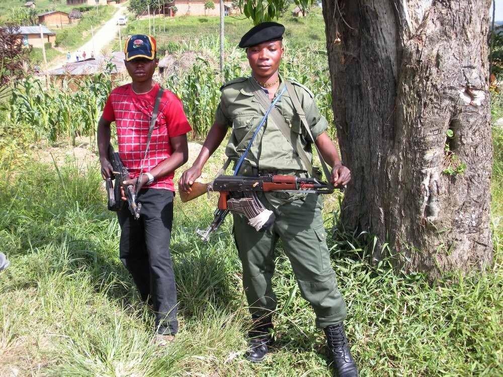 Дети солдаты - Конго (3)