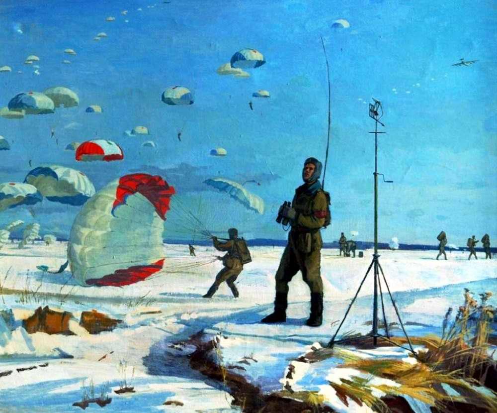Дежурный по прыжкам (Алексей Федоров, 1984 год)