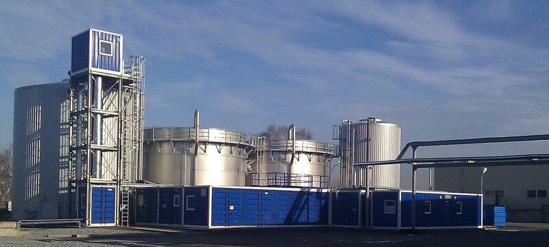 Биологические очистные сооружения Biomar на одном из молокозаводов России