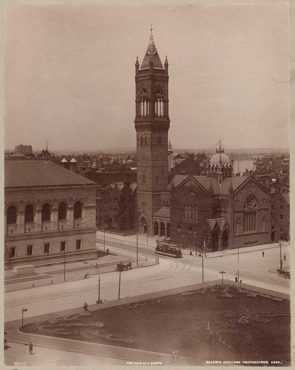 1895. Старая Южная церковь