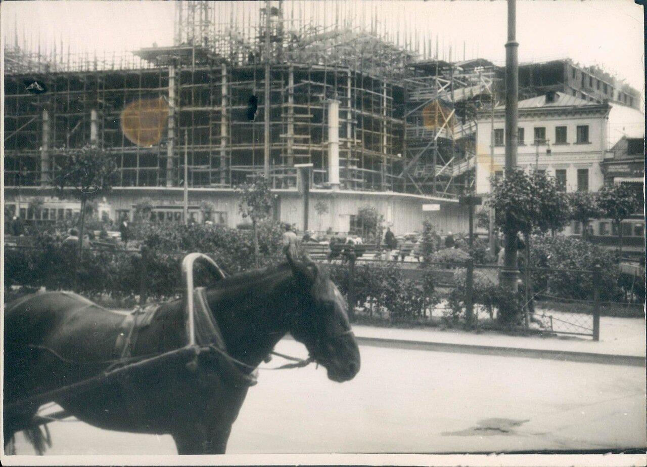 1920-е. Городское строительство в Москве
