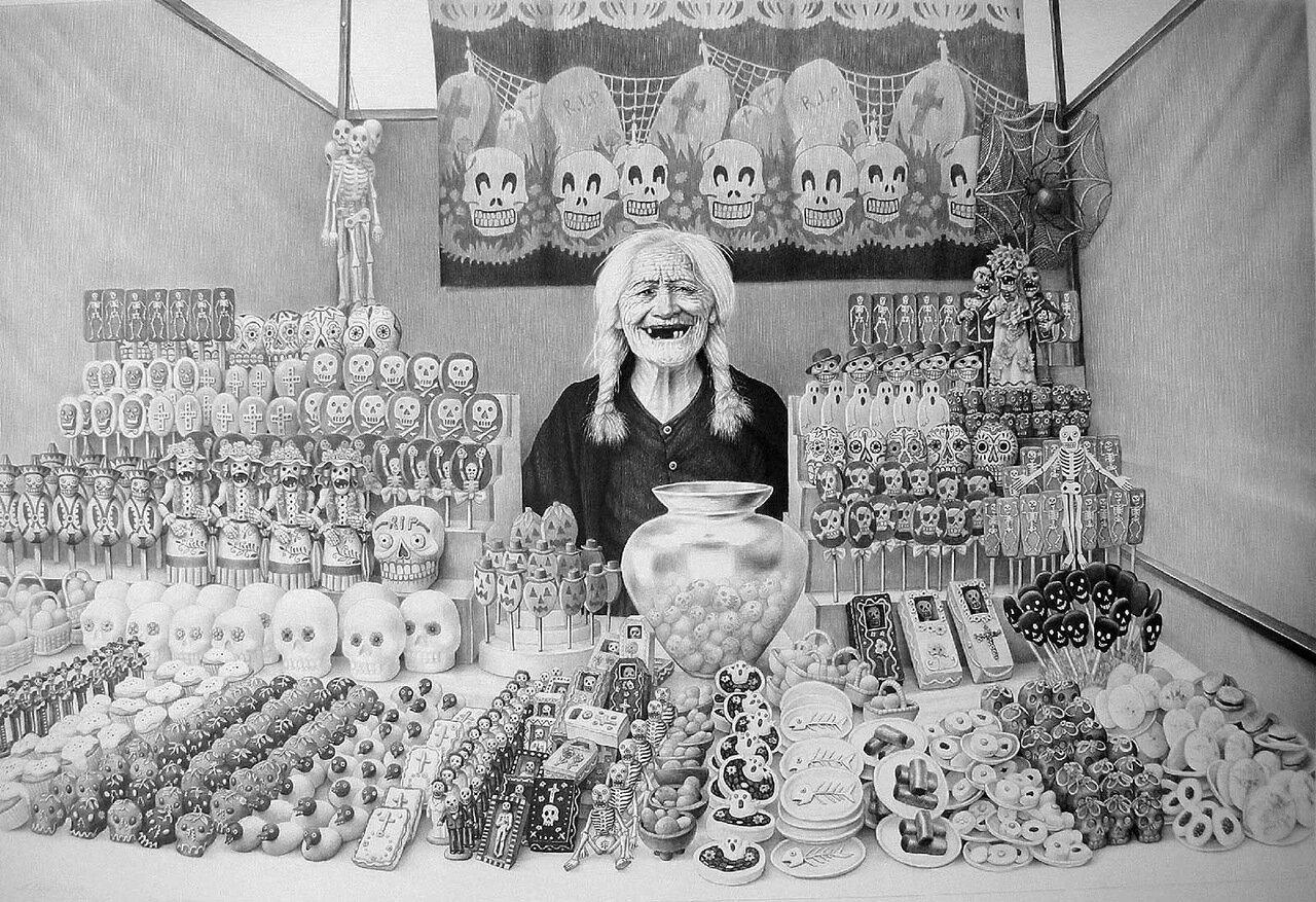 Продавец сладостей. 2008