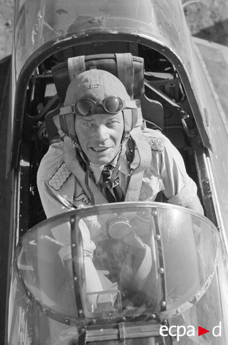 Эрнст Купфер лидер эскадры «Иммельман»