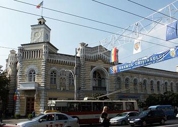 Центральную улицу Кишинева перекроют на неделю