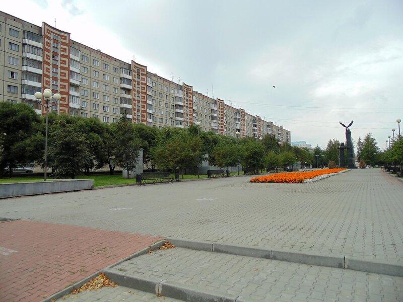 Челябинск, бульвар СЛАВЫ