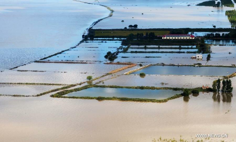 Китай потоп