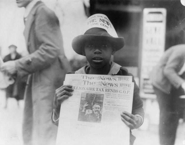 Детский труд в США