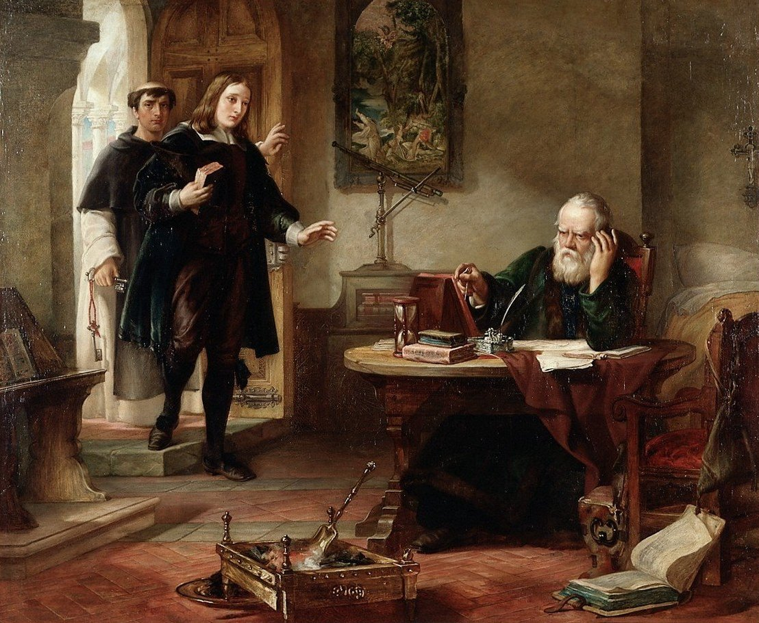 the defiant attitude of galileo galilei towards the roman catholic church in his letter to the grand