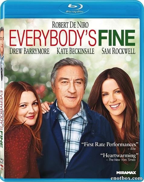 Всё путём / У них всё хорошо / Everybody's Fine (2009/BDRip/HDRip)