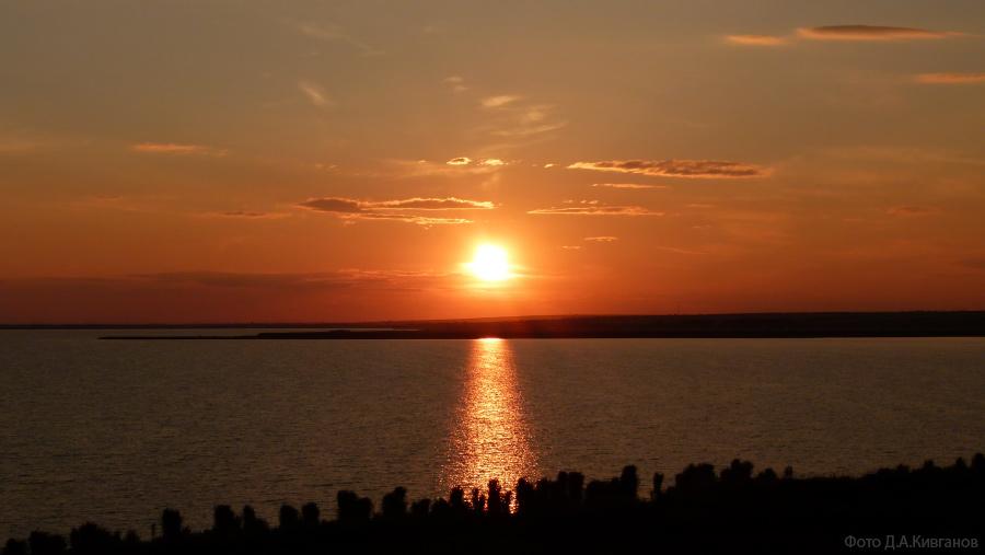 Озеро Кагул - закат