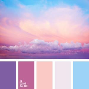 сочетание цветовых оттенков