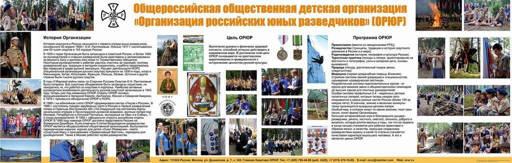 Организация российских юных разведчиков