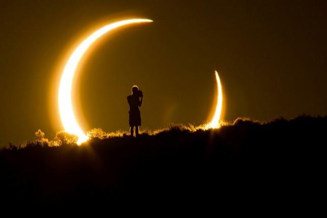 Спутник NASA впервый раз  снял двойное затмение Солнца